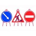 Тренога к временному дорожному знаку