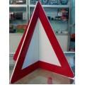 Знак аварийной остановки (треугольник) 3D