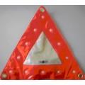 Знак аварийной остановки мягкий (треугольник) светодиодный