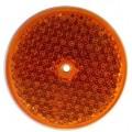 Катафот круглый оранжевый UO-75
