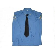Сорочка форменная высшего руководящего состава милиции (пошита из высококачественного хлопка)