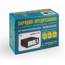 Зарядно-предпусковое устройство для аккумулятора ВЫМПЕЛ-40 (автомат, 0-20А, 12/24В, стрел. амперметр)